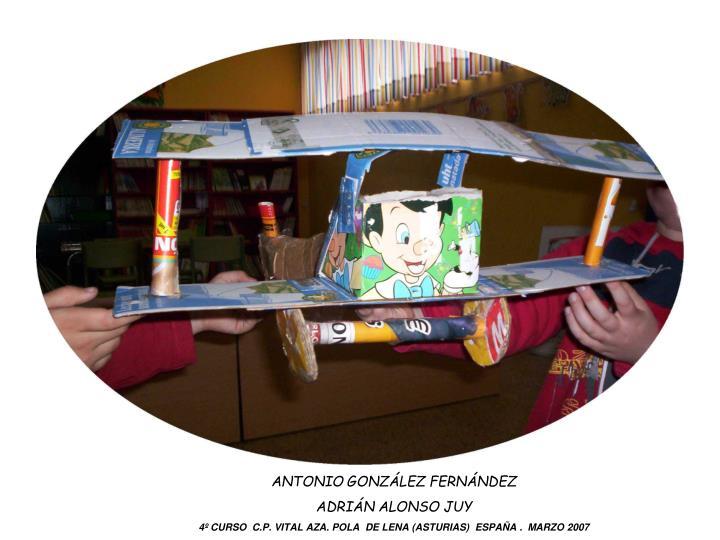 ANTONIO GONZÁLEZ FERNÁNDEZ