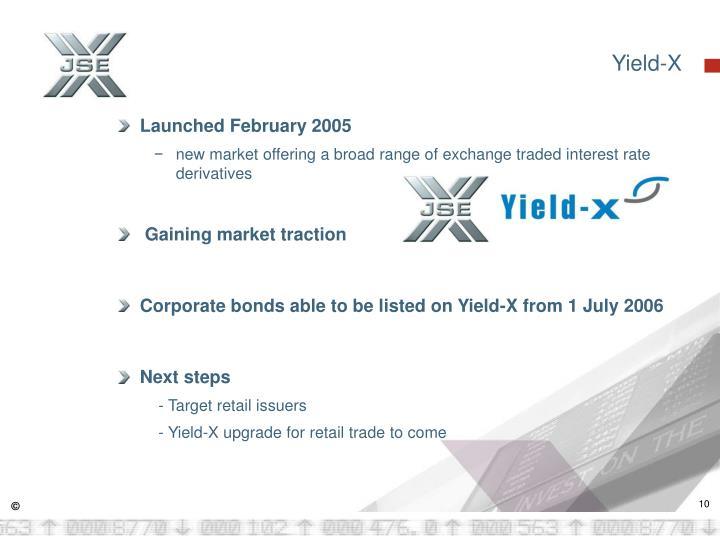 Yield-X