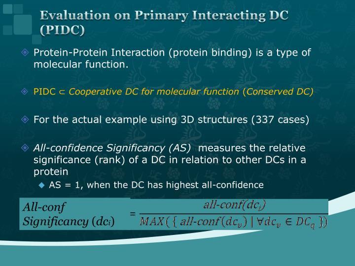 Evaluation on Primary