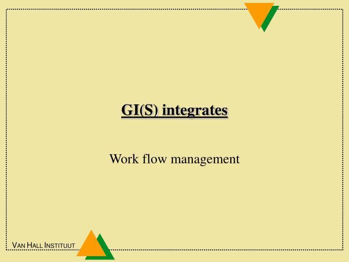 GI(S) integrates