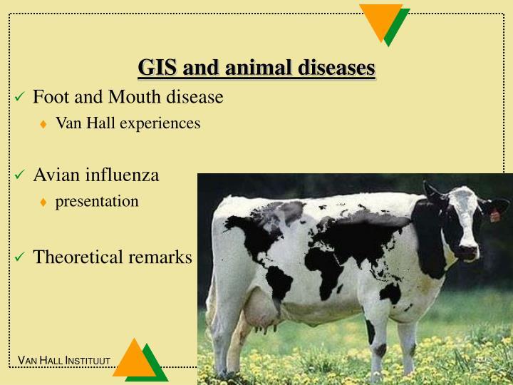 GIS and animal diseases