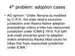 4 th problem adoption cases