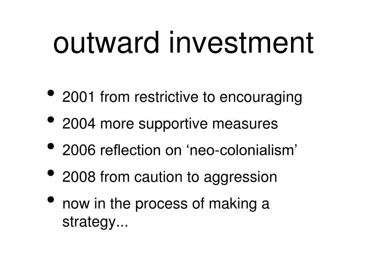 outward investment