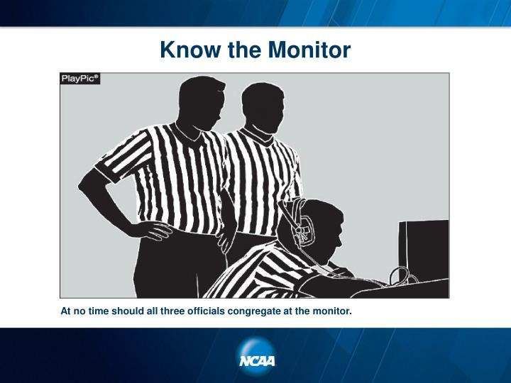 Know the Monitor