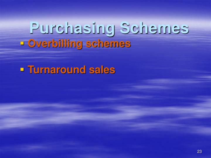 Purchasing Schemes