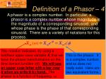 definition of a phasor 4