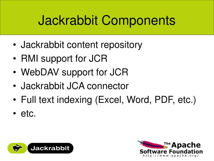 Jackrabbit Components