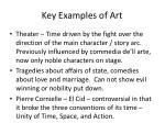 key examples of art