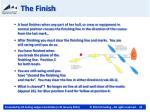 the finish1