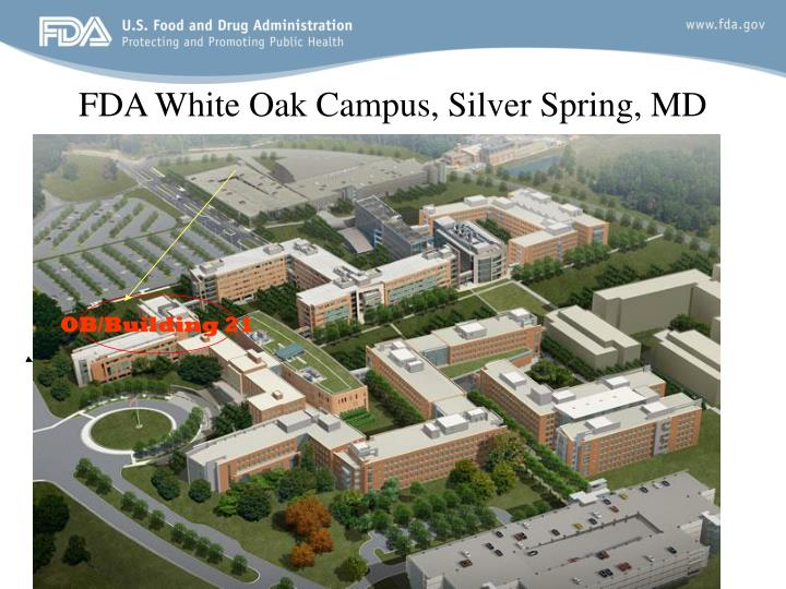 FDA White Oak Campus, Silver Spring, MD