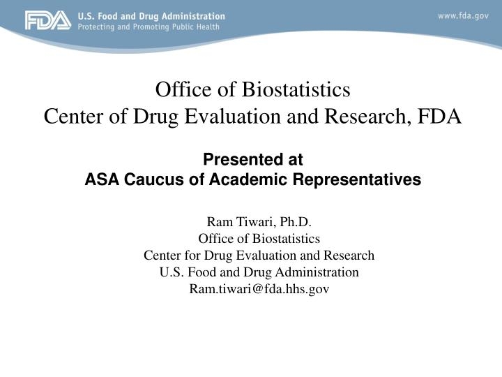 Office of Biostatistics
