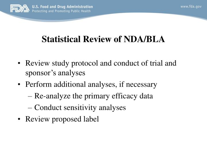 Statistical Review of