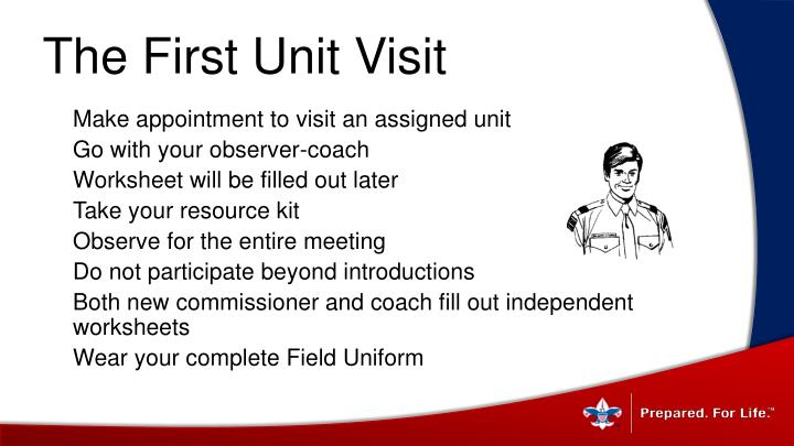 The First Unit Visit