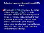 collective investment undertakings ucits cont2