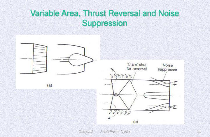 Variable Area, Thrust Reversal and Noise Suppression