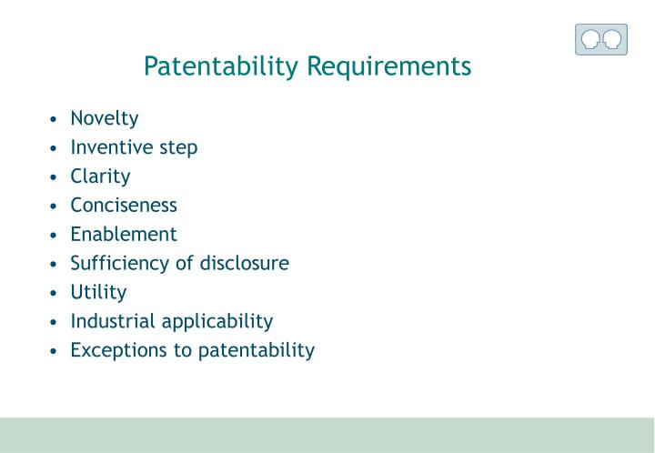Patentability Requirements