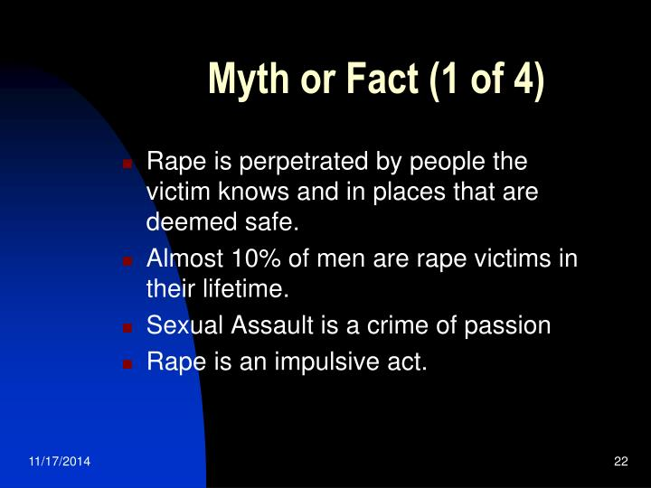 Myth or Fact (1 of 4)