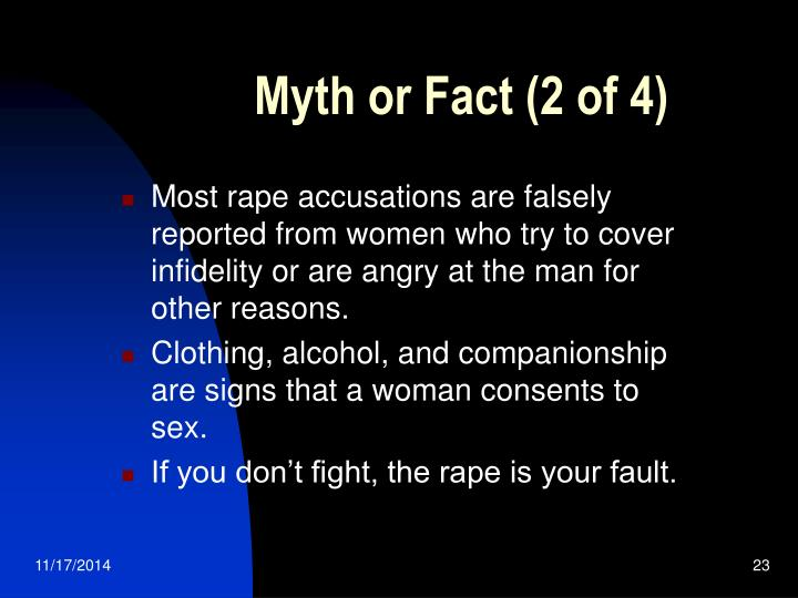 Myth or Fact (2 of 4)