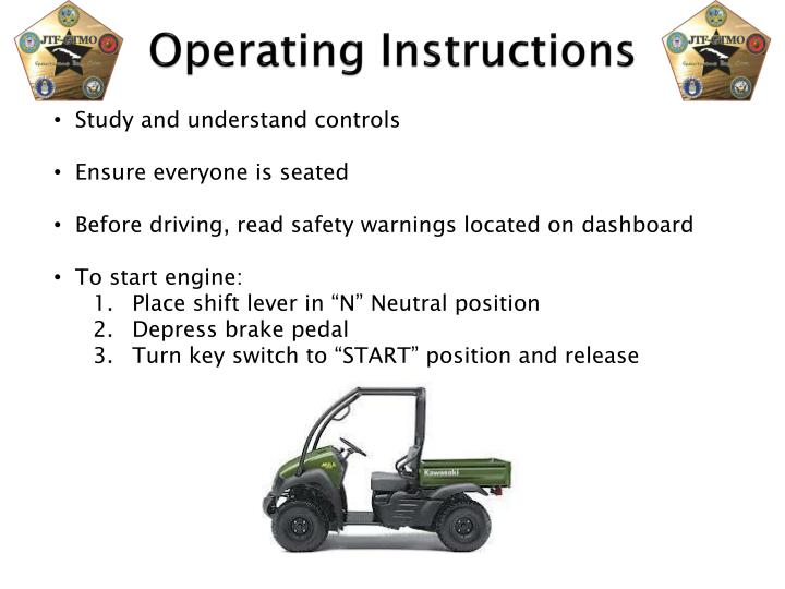 Study and understand controls