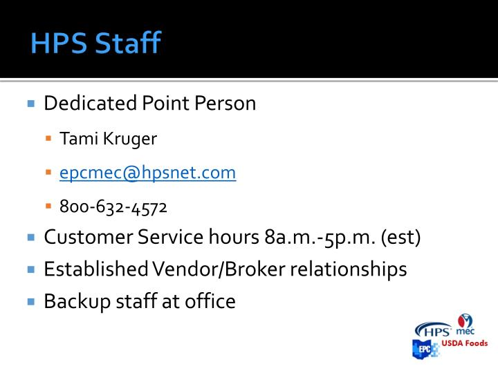 HPS Staff