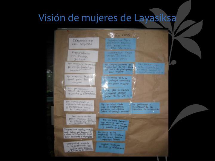 Visión de mujeres de Layasiksa