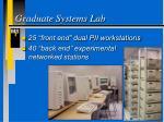 graduate systems lab