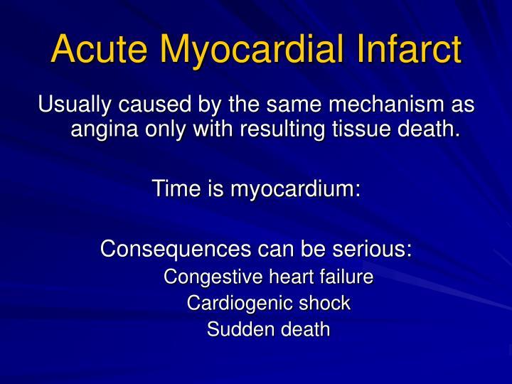 Acute Myocardial Infarct