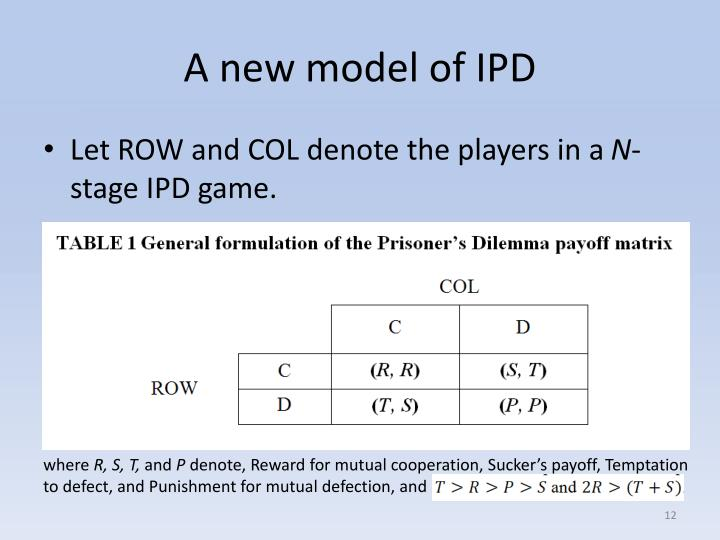 A new model of IPD