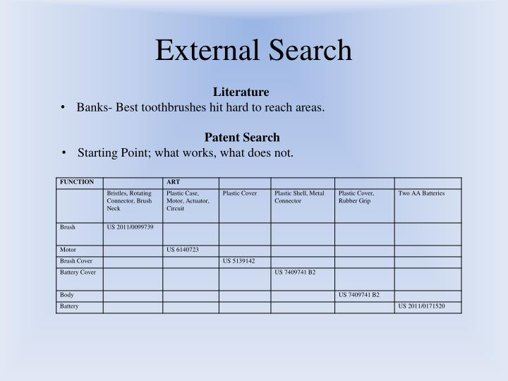 External Search