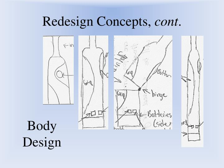 Redesign Concepts,