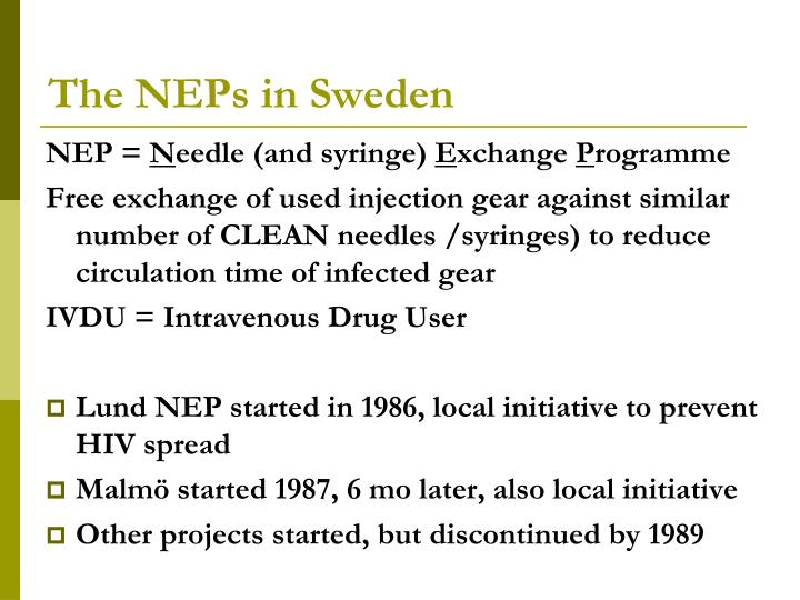 The neps in sweden