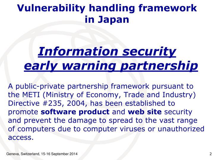 Vulnerability handling framework
