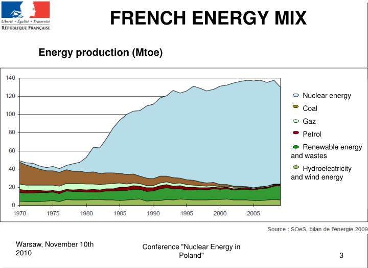 FRENCH ENERGY MIX