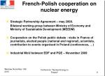 french polish cooperation on nuclear energy