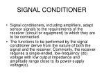 signal conditioner1