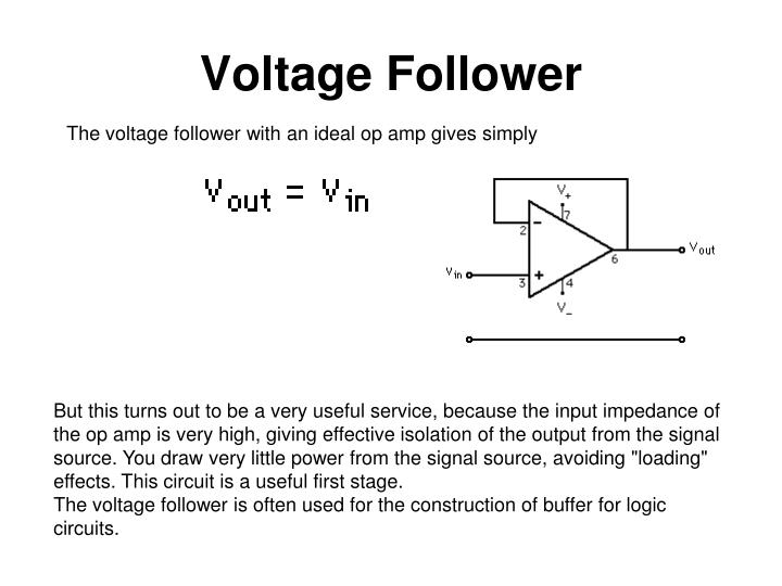 Voltage Follower