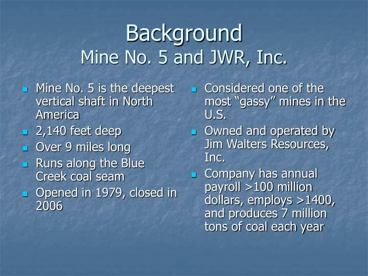 Mine No. 5 is the deepest vertical shaft in North America