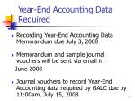 year end accounting data required2
