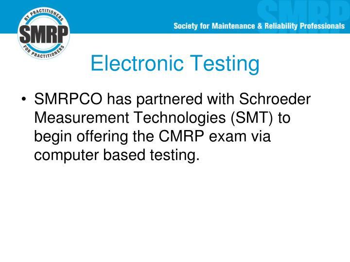Electronic Testing