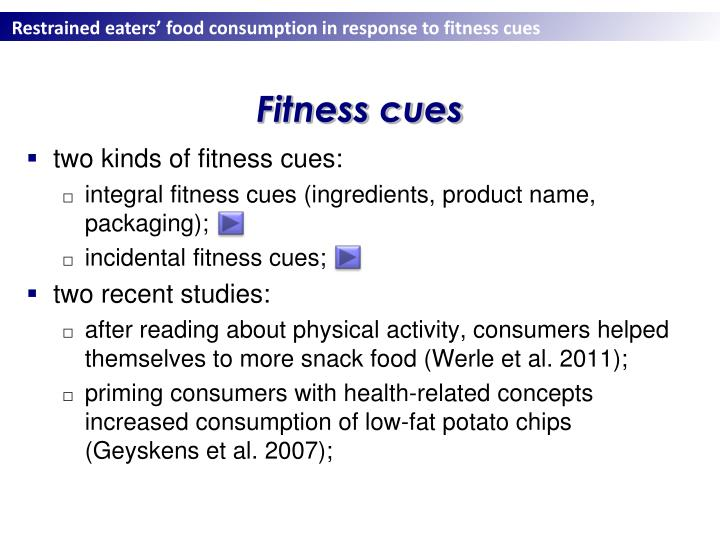 Fitness cues