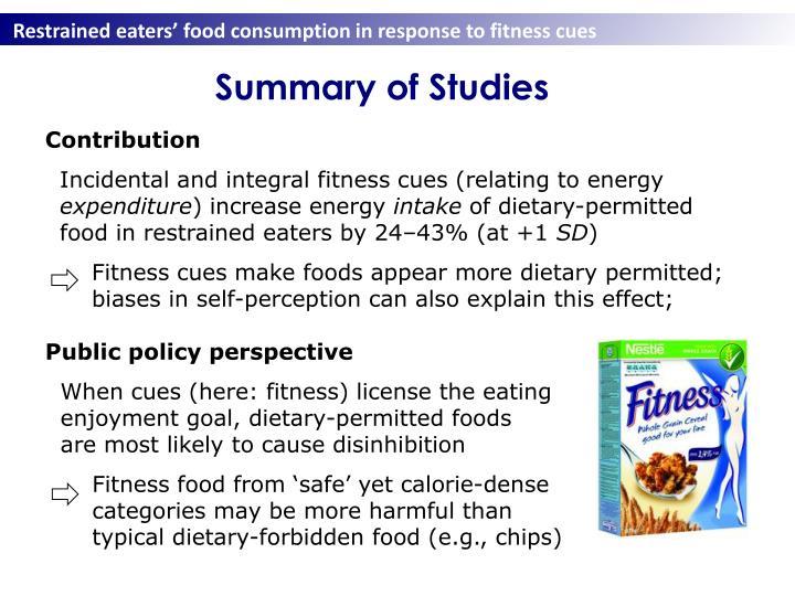 Summary of Studies