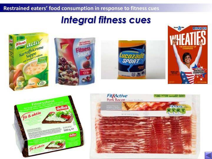 Integral fitness cues