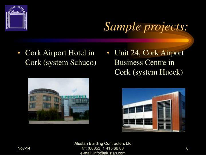 Cork Airport Hotel in Cork (system Schuco)
