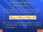 segundo principio de la termodin mica