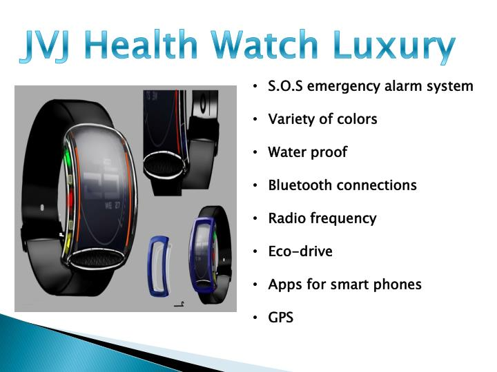 JVJ Health Watch Luxury