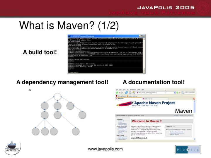 What is Maven? (1/2)