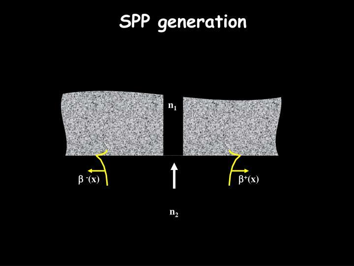 SPP generation