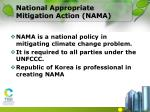 national appropriate mitigation action nama