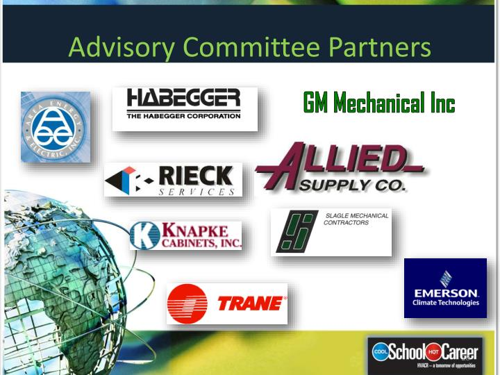 Advisory Committee Partners