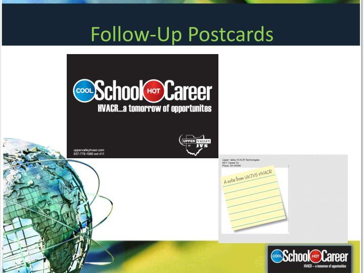 Follow-Up Postcards